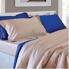 Cotton Satin Set of Sheet 1208 Blue 235X260 4pcs