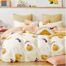 Duvet cover set 1354 Cotton-Satin 165Χ250 2pcs