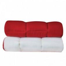 Blanket 997 Microfiber Red - Ecru 2 sides