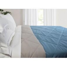 Blanket 999 Microfiber Blue - Gray 2 sides