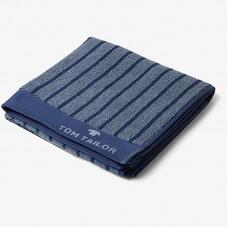 Jacquard Towel 100-273 Navy 2 dimensions