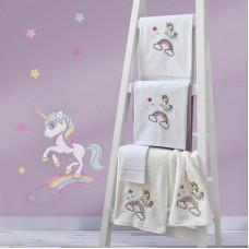 Towel Set 899 Unicorn Embroidery 2pcs