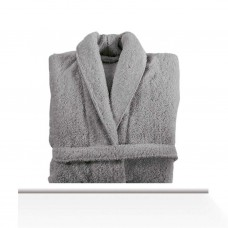 Bathrobe Long Double Loop Anthracite