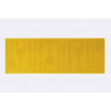 Kitchen Rug Grill Mustard