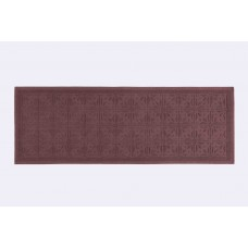 Kitchen Rug Traditional Marsala