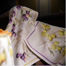 Towel Aida Naturale leccino