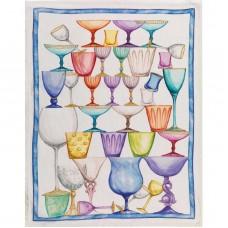 Towel Crystal Blu
