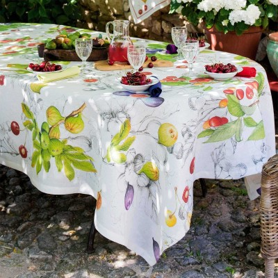 Table Toppers Demetra Linen