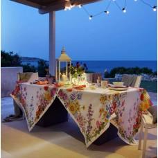 Tablecloth Floralia Cream
