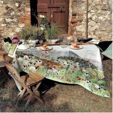 Tablecloth Heidi White
