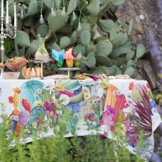 Tablecloth Kactus Linen