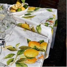 Table Toppers Limoncello Cream