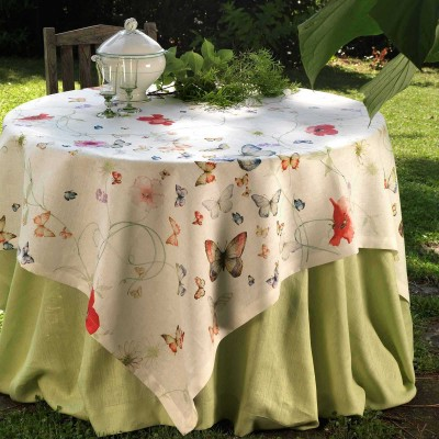 Table Toppers Papillon Linen