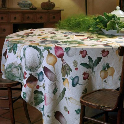 Table Toppers Potager Linen