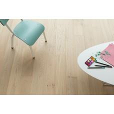 Polished parquet Essentials 3-strips - Albatre