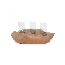 Decorative Candle Sampang (40x18x18) 0490129