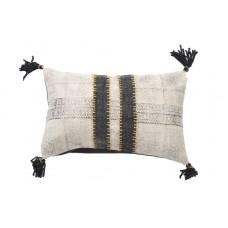 Decorative pillow Lotus Cot Black (40 × 60) Soulworks 0610001