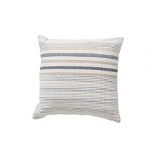 Decorative pillow Lotus Handwoven Ivory and Gray (50 × 50) Soulworks 0610004