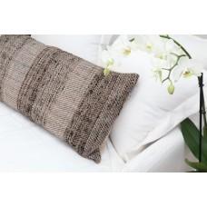 Decorative pillow Meren Gray-Black (40 × 80) 0620006