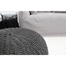 Pouf Matera Black (60x60x30) Soulworks 0490104