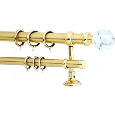 Curtain Rod Gold Mat F35 533 (Swarovski Φ70)