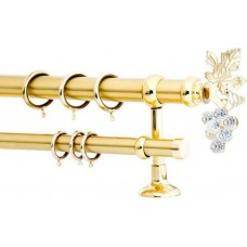Curtain Rod Gold Mat F35 555