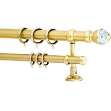 Curtain Rod Gold Mat F35 572
