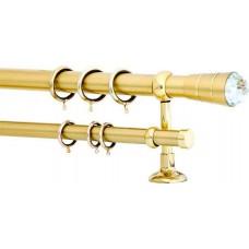 Curtain Rod Gold Mat F35 584