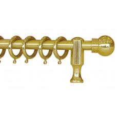 Curtain Rod Brass F16 650