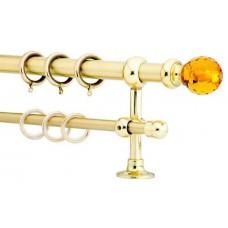 Curtain Rod Gold Mat F20 530