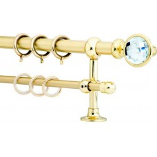 Curtain Rod Gold Mat F20 550