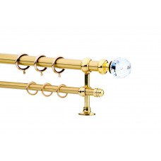 Curtain Rod Gold Mat F25 530