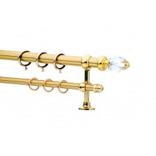 Curtain Rod Gold Mat F25 532