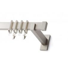 Curtain Rod Nickel Mat Moris P30