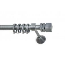 Curtain Rod Bronzed Nickel Idra F25