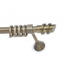 Curtain Rod Bronzed Matt S12 F25