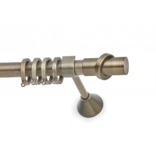 Curtain Rod Bronzed Matt S14 F25