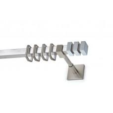 Curtain Rod Nickel Mat Tinos T20