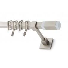 Curtain Rod Nickel Mat Coney T20