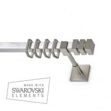 Curtain Rod Nickel Mat Kythnos T20