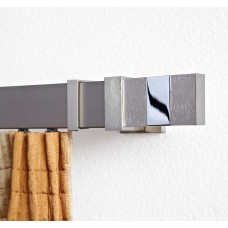 Curtain Rod Nickel Mat Elite Flat Rail