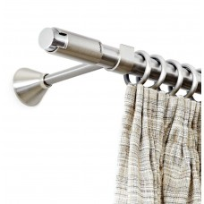 Curtain Rod Nickel Mat Moca F25
