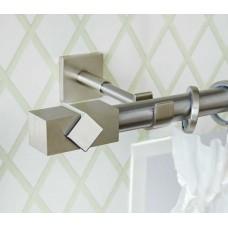 Curtain Rod Nickel Mat Caldera Metal F25