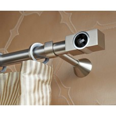 Curtain Rod Nickel Mat Movie Crystal F30