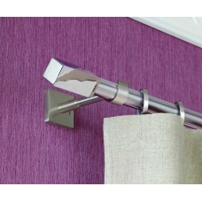 Curtain Rod Nickel Mat Perfection F25