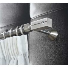 Curtain Rod Nickel Mat Praga F25