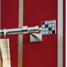 Curtain Rod Nickel Mat Puzzle F25