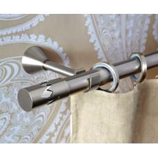 Curtain Rod Nickel Mat Remezzo F25