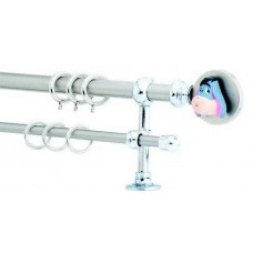 Childish Curtain Rod F20 553 Nickel Mat