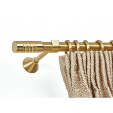 Curtain Rod Gold Mat Brooklin F25